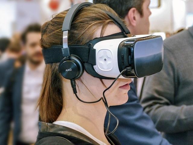 casque pour se former en réalité virtuelle